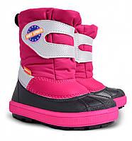 Сапоги зимние детские Demar Baby Sports розовые (20-29 р.)
