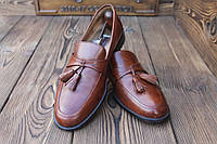 Мужские туфли лоферы Johnston & Murphy, made in Italy, 28 см, 43 размер. Код: 308.