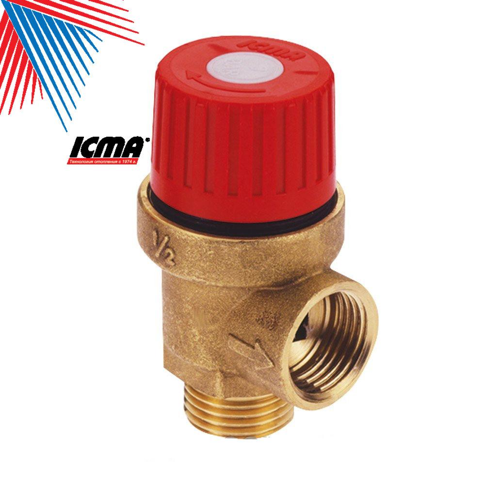 ICMA Запобіжний клапан 1,5 ваг нар.різьба