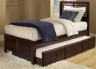 """Кровать подростковая """"Том"""" с ящиками"""