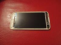 Дисплей в рамке или без для Lenovo A516 a378t Original в белой и черной
