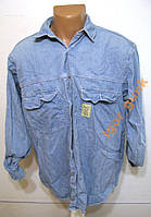 Рубашка джинсовая SECOND IMAGE, S, Для работы!