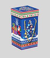 Упаковка праздничная новогодняя из картона Новый год, 1000г
