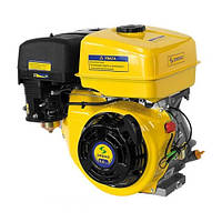 Двигатель бензиновый Садко GE-270 (9,0 л.с., ручной стартер, шпонка Ø25,5мм, L=72мм) + доставка