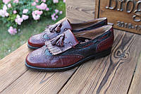 Мужские туфли лоферы Bruno Magli, made in Italy, 28 см, 43 размер. Код: 324.