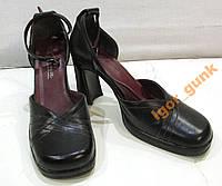 Туфли CARINA, 37 (24 см) кожзам, ОТЛ СОСТ!