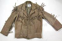 Куртка кожаная LEATHERS&SHEEPSKIN (пл-46 см)
