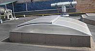 Зенитный фонарь арочного типа