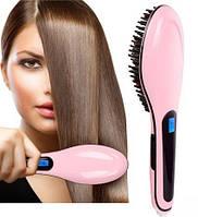 Fast Hair Straightener HQT 906. Выпрямитель для волос, утюжок, укладка волос. Расческа для волос.