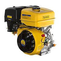 Двигатель бензиновый Садко GE-390  (13,0 л.с., ручной стартер, шпонка Ø25,5мм, L=72мм) + доставка