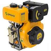 Двигатель дизельный Садко DE-220  (4,2 л.с., шпонка Ø19мм, L=56.6мм, повр. упаковка) + доставка