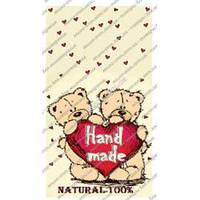 Бирка декоративная Мишка Тедди (набор 5 шт) - от 50 упаковок
