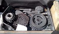 Цепной привод РСМ 10.24.00.000 уменьшения оборотов барабана Дон-1500