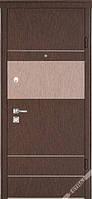 Входные металлические двери ТМ Страж Модель  Бревис венге золото