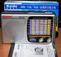 Радио Kaide KK-1012TV FM MW,SW супер мощный прием