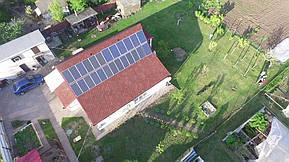 Монтаж и модернизация гибридной солнечной электростанции для частного дома под Зеленый тариф мощностью 5 кВт  2