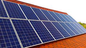 Монтаж и модернизация гибридной солнечной электростанции для частного дома под Зеленый тариф мощностью 5 кВт  4