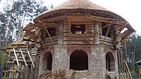 Обслуживание деревянных домов и срубов.