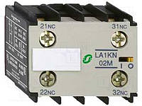 Блок допоміжних контактів Schneider Electric LA1KN11 1НО+1НЗ