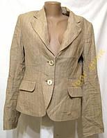 Пиджак H&M, 38 (8), ЛЕН, КАК НОВЫЙ!