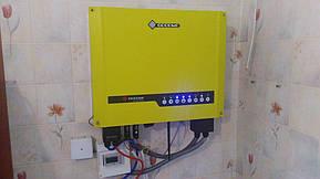 Монтаж и модернизация гибридной солнечной электростанции для частного дома под Зеленый тариф мощностью 5 кВт  8