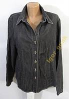 Куртка джинсовая FIRST, 42 (16), КАК НОВАЯ!