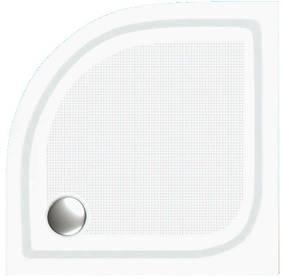 Полукруглый душевой поддон Invena BN-90 90x90