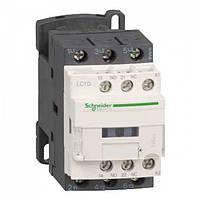 Контактор Schneider Electric LC1D12M7 3Р, 12 A, НО+НЗ, 220V 50/60 Гц