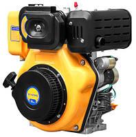 Двигатель дизельный Садко DE-420ME  (10,0 л.с., шлицы Ø25мм, L=33мм, электростарт) + доставка