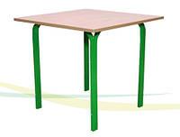 Стол для столовых квадратный 4-местный