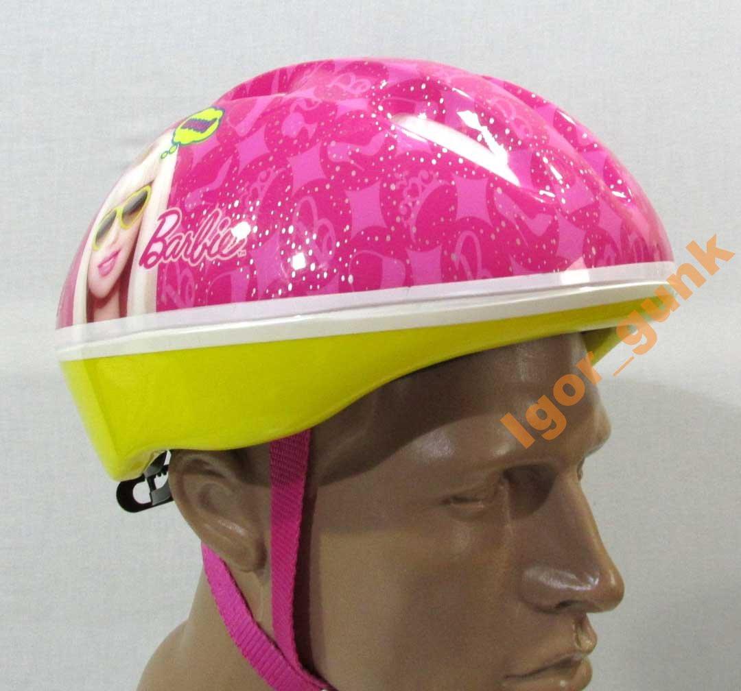 Вело шлем BARBIE, 52-56 см, СОСТ НОВОГО!