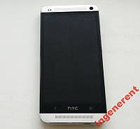 HTC One 801n Silver Оригинал! 32GB