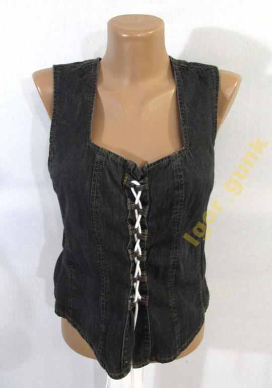 Жилетка джинсовая ARIZONA, 38, cotton