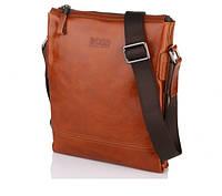 Мужская сумка рыжего цвета Hugo Boss 520-5