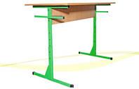 Стол для столовых прямоугольный 4-местный консольного типа