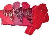 Спортивный костюм-тройка утепленный для девочек, размеры 2,4 лет, Crossfire, арт. AF-203
