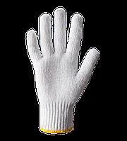 Перчатки трикотажные без ПВХ т. отбеленные, уплотненные