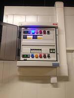 Пульты управления для систем охлаждения и кондиционирования. Проектирование, изготовление.
