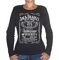 """Женская футболка """"Jack Deniels"""""""
