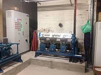 Компрессорная станция центрального холодоснабжения низкотемпературных потребителей. Проектирование, поставка и монтаж.