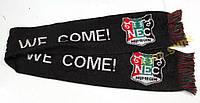 Шарф футбольный NEC, Как новый!