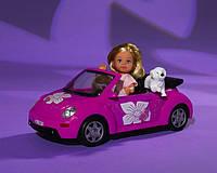 Кукла Еви Минни Маус в кабриолете Evi Minniе Mouse Simba