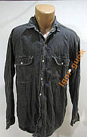 Рубашка джинсовая HARD WEAR, S, ОТЛ СОСТ!