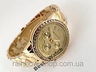 Часы наручные стильные женские - Michael Kors. Специальное покрытие, не стирается.