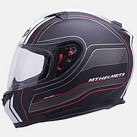 Мотошлем MT Blade SV Raceline Red с очками.