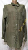 Блузка H&M, 40, прозрачная, КАК НОВАЯ!
