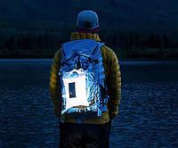Фонарь туристический на солнечной батарее Lumin надувной
