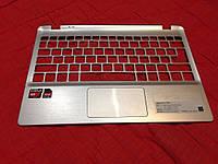 Крышка клавиатуры с тачпадом для acer v5-122p