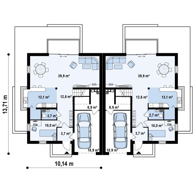 Проект Дома № 2,35