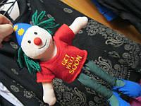 КЛОУН кукла коллекционная мягкая игрушка ЕВРОПА